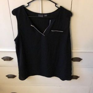 Covington sleeveless blouse